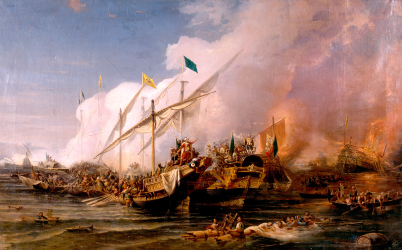 battle_of_preveza_1538