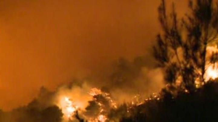 ΕΚΤΑΚΤΟ:Εκκενώνονται 4 οικισμοί στο Λαύριο