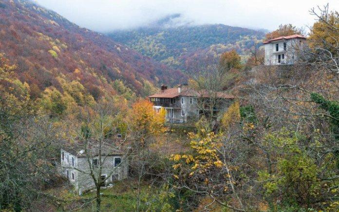 Το όμορφο χωριό που «βλέπει» Όλυμπο και Αιγαίο