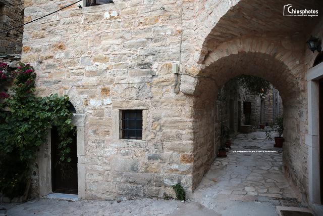 Το Μεσαιωνικό χωριό της Χίου που πήρε το όνομα του από την «πατρική κληρονομιά» (βίντεο)