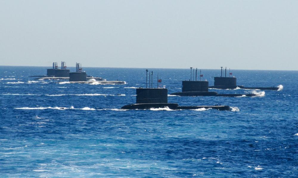 ΕΚΤΑΚΤΟ:Ενταση σε Αιγαίο & Α. Μεσόγειο – Έβγαλαν υποβρύχια για ασκήσεις με πραγματικά πυρά οι Τούρκοι