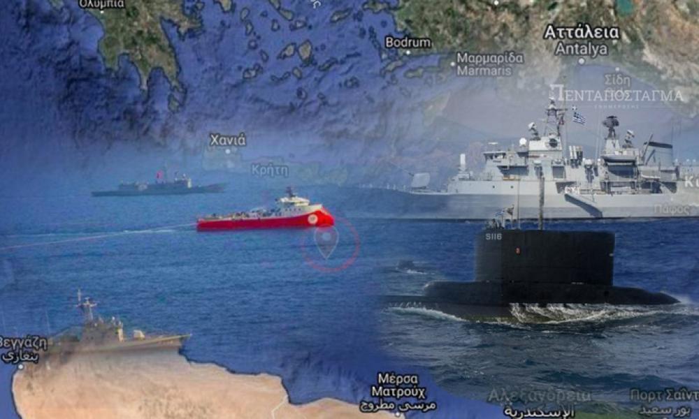"""Η Ελλάδα προειδοποιεί την Τουρκία: """"Δεν σας συμφέρει ένα θερμό επεισόδιο-Υπερτερούμε σε αέρα, ξηρά & θάλασσα"""" Μήνυμα ισχύος και αποφασιστικότητας"""