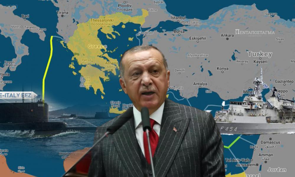 """""""Πάγωσαν"""" οι Τούρκοι: """"Προκλητική η συμφωνία Ελλάδας-Ιταλίας-Προετοιμαστείτε για κρίση"""""""