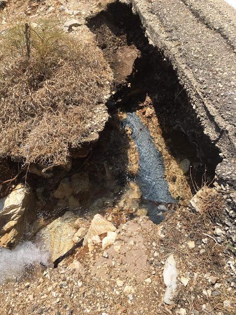 Μεγάλη βλάβη στο εξωτερικό δίκτυο ύδρευσης του Αστακού