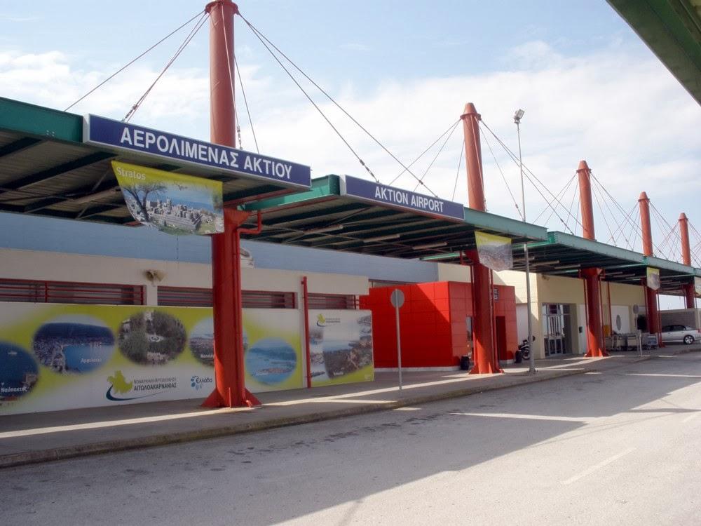 Μειωμένη κατακόρυφα και τον Ιούλιο η κίνηση στο αεροδρόμιο του Ακτίου