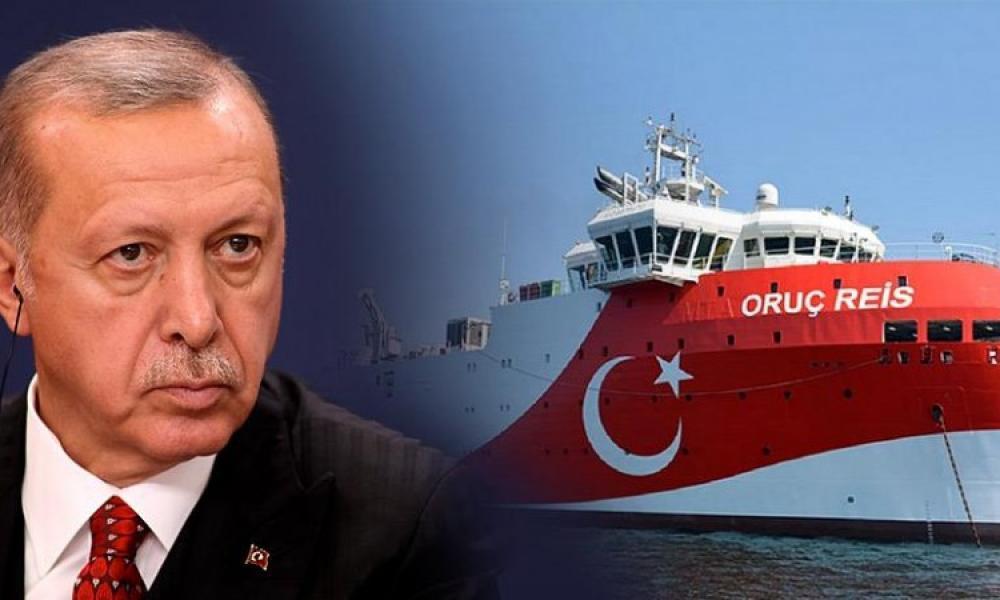"""""""Ουρλιάζει"""" ο Ρ.Τ. Ερντογάν: """"Σκοτεινιάζουν το μέλλον τους οι Έλληνες, συνεχίζουμε τις έρευνες!"""" – Διάγγελμα προς τον τουρκικό"""