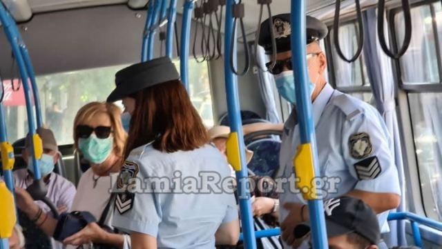 Χαμός μέσα σε αστικό λεωφορείο[βιντεο]