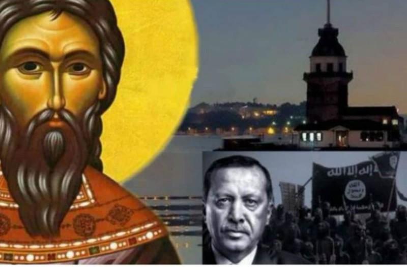 Σοκάρει η προφητεία του Αγίου Ραφαήλ: «Η ιστορία θα αλλάξει σελίδα όταν ο Ερντογάν…»