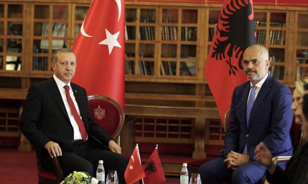 Σχέδιο περικύκλωσης της Ελλάδας από την Τουρκία – Συμμαχία Ερντογάν-Ράμα
