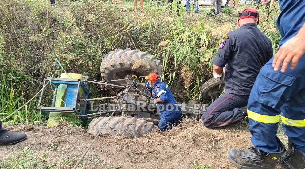 Τραγωδία : Αγρότης έπεσε στη σούδα και καταπλακώθηκε από το τρακτέρ του