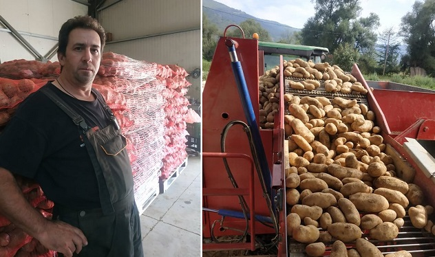 Αυτός ο Άνθρωπος χάρισε 25 τόνους πατάτες σε άπορους, αλλά κανείς δεν μιλάει γι' αυτό