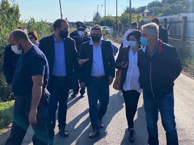 Οδικά έργα σε εξέλιξη στο Δήμο Ξηρομέρου με χρηματοδότηση από το Π.Δ.Ε. της Περιφέρειας Δυτικής Ελλάδος.
