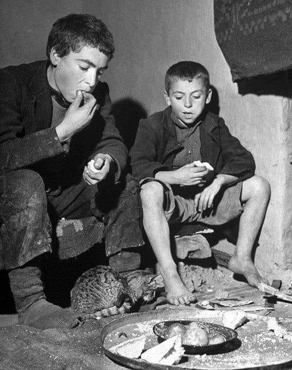 Κι έτσι μεγάλωσαν γενιές και γενιές, άλλοτε με λιγοστό και άλλοτε με περίσσιο ψωμί στο τραπέζι…