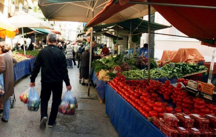 Βαριά καμπάνα 18.000 ευρώ  σε λαική αγορά για μη τήρηση των μέτρων
