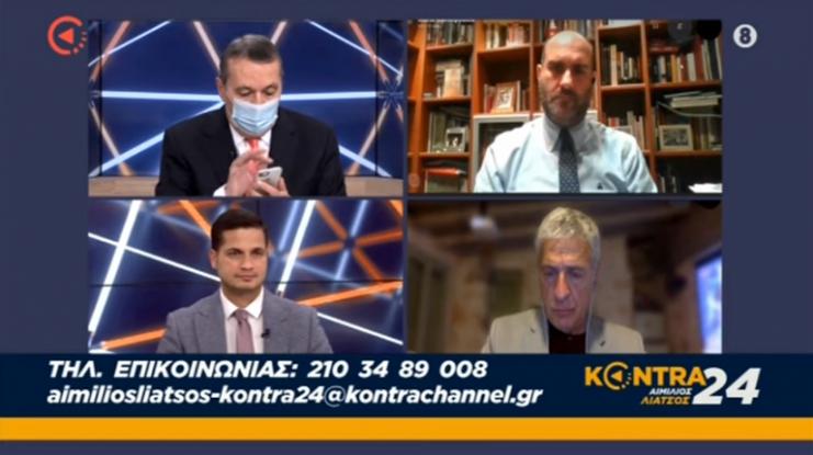 Το Μαξίμου επέβαλε «σιωπητήριο» Γεωργιάδη – Το SMS που διάβασε ο Λιάτσος στον αέρα (Video)