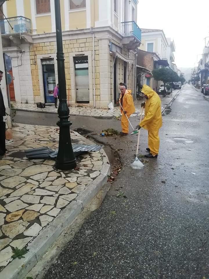 Μεγάλες καταστροφές στον Αστακό απο την κακοκαιρία![φωτο]