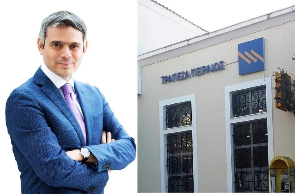 Κώστας Καραγκούνης : Καθοριστικής σημασίας για την παραμονή της τράπεζας Πειραιώς στην Βόνιτσα η απόφαση του Δήμου να μεταφέρει όλες τις καταθέσεις του από την Εθνική στην Πειραιώς.
