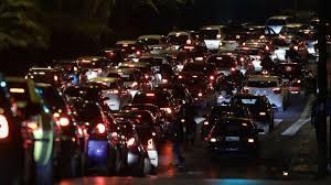 Κυκλοφοριακό χάος στους δρόμους της Αθήνας παρά το lockdown, μποτιλιάρισμα στον Κηφισό