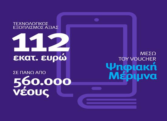 200 ευρώ σε χιλιάδες οικογένειες για  λάπτοπ, τάμπλετ και υπολογιστές
