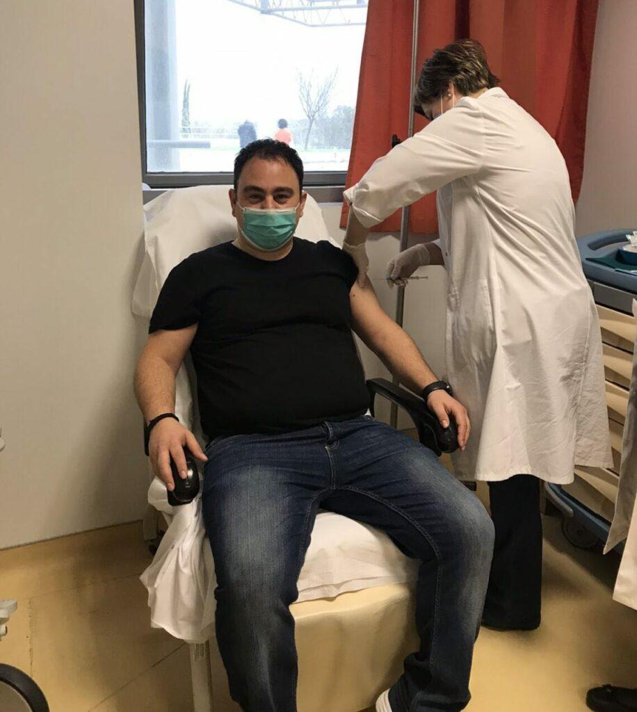 Εμβολιάστηκε το προσωπικό του Κέντρου Υγείας Κατούνας (φωτο)