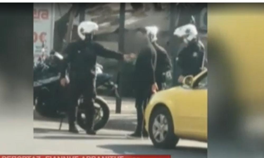 Περιοριστικά μέτρα: Aγριο Ξύλο μεταξύ αστυνομικών και πολιτών