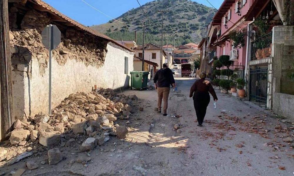 ΕΚΤΑΚΤΟ:Σείεται η γη ,Nέος σεισμός 5,2 Ρίχτερ στην Ελασσόνα