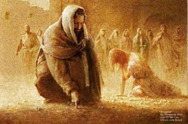 Τι έγραψε ο Ιησούς στο χώμα και γλίτωσε την αμαρτωλή γυναίκα από βέβαιο θάνατο