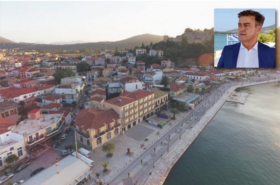 Γεώργιος Αποστολάκης : Ο Δήμος Ακτίου Βόνιτσας οδηγεί την ανάπτυξη , συνέντευξη του Δημάρχου στην εφημερίδα ΑΙΧΜΗ.