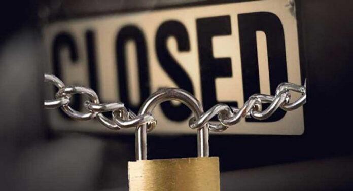 ! Περισσότερες από 210.000 επιχειρήσεις τέθηκαν σε αναστολή τον Μάρτιο! Το 14.8% του συνόλου των επιχειρήσεων