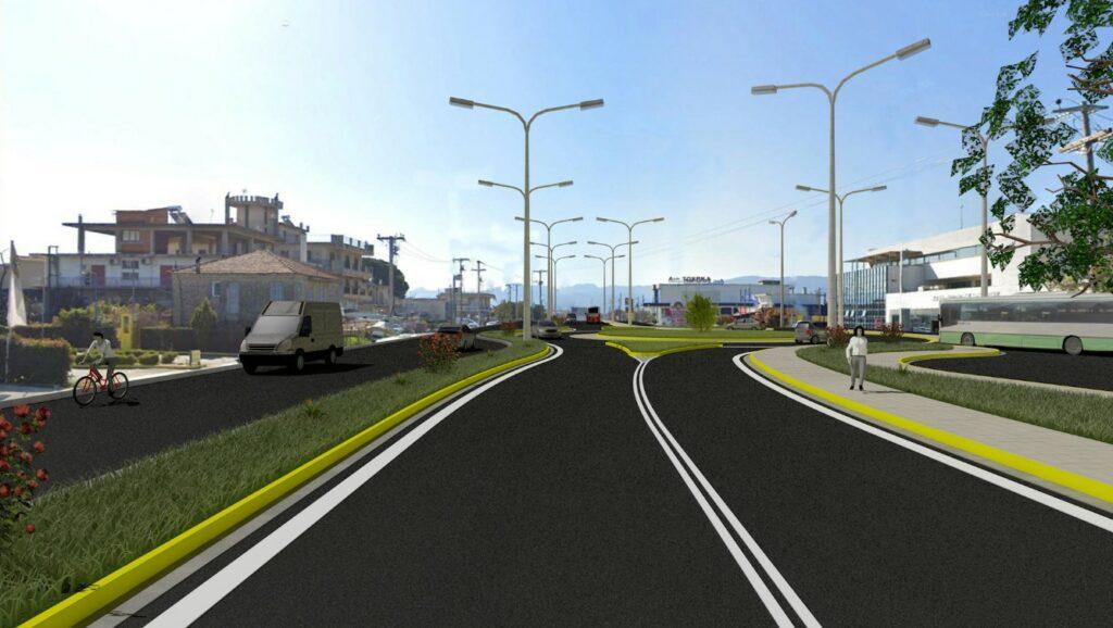 Αγρίνιο-εθνική οδός: Έτσι θα είναι οι νέοι κυκλικοί κόμβοι στο υπεραστικό ΚΤΕΛ και στο νοσοκομείο