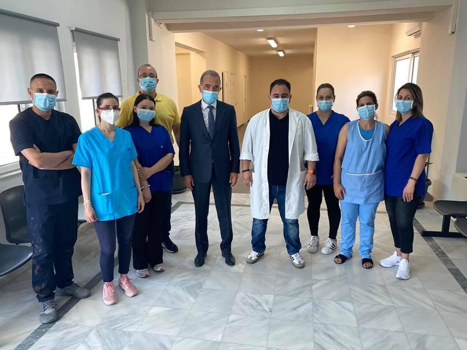 Σήμερα επισκέφθηκε το Κέντρο Υγείας Κατούνας ο Βουλευτής  κύριος Σαλμάς