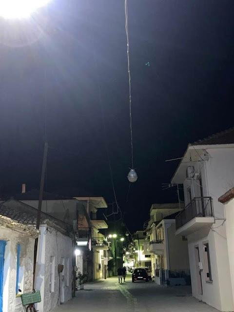 Αποστόλης Πανταζής: Όλα ένα ψέμα ένα τέρμα,μία πόλη δίχως ρεύμα!!!!(ΦΩΤΟ)