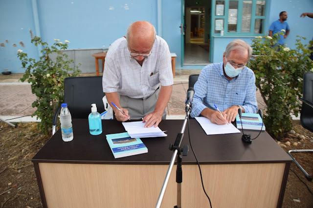 """Μεγάλη επιτυχία σημείωσε η παρουσίαση βιβλίου του Αλέξανδρου Σάββα """"πόλεις και χωριά του Δήμου Ξηρομέρου"""""""