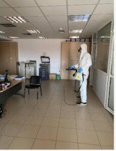 Απολύμανση στο Δημαρχείο στον Αστακό.μετά από επιβεβαιωμένο κρούσμα κορονοϊού σε υπάλληλο του Δήμου.