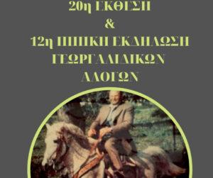 Ιππικός Όμιλος Βόνιτσας: Κυριακή 10 Οκτωβρίου η 20η Έκθεση & 12η Ιππική εκδήλωση Βόνιτσας