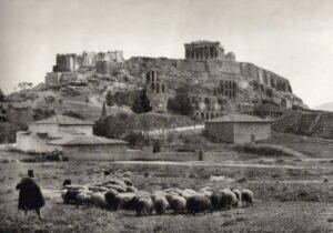 Εικόνες Απο Το Παρελθόν: Όταν Η Αθήνα Είχε Γίδια Και Κατσίκια..